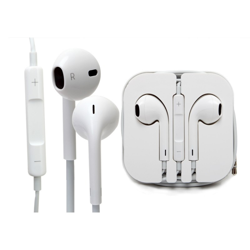 92f59809f3b Audífono OEM Apple Earpods iPhone 4/5/5s/6/6+/6s/6s+ - Portátil Shop RD